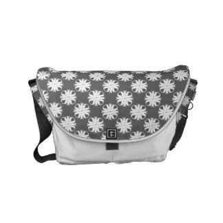 White Clover Ribbon Small Messenger Bag