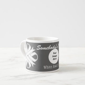 White Clover Ribbon Template by Kenneth Yoncich Espresso Cup