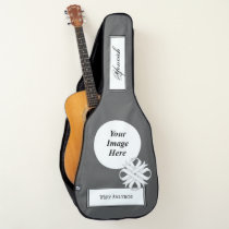 White Clover Ribbon Template by Kenneth Yoncich Guitar Case