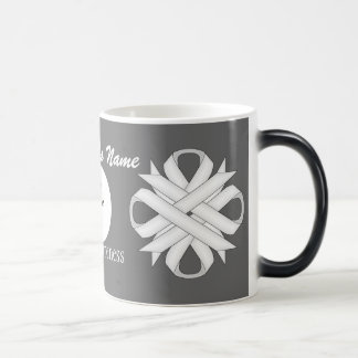 White Clover Ribbon Template by Kenneth Yoncich Magic Mug