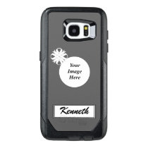 White Clover Ribbon Template by Kenneth Yoncich OtterBox Samsung Galaxy S7 Edge Case