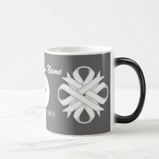 White Clover Ribbon Template Morphing Mug