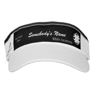 White Clover Ribbon Template Headsweats Visor