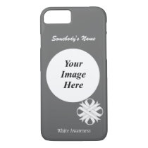 White Clover Ribbon Tmpl by Kenneth Yoncich iPhone 8/7 Case