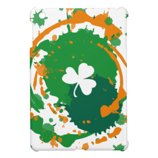 White Clover With Ink Background iPad Mini Case