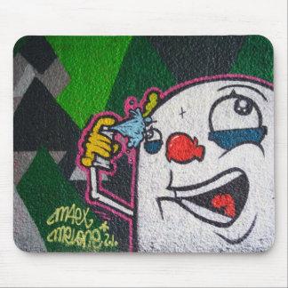 White Clown Mousepads