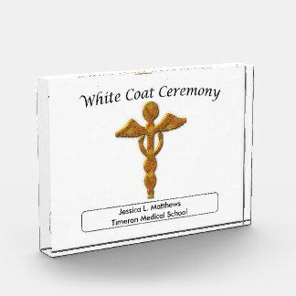 White Coat Ceremony Gold Medical, Custom Award
