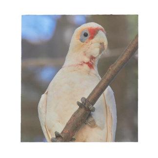 White Cockatoo Notepad
