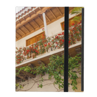 White Colonial Balcony iPad Case