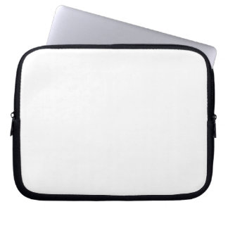 White Color 10 inch Computer Sleeve