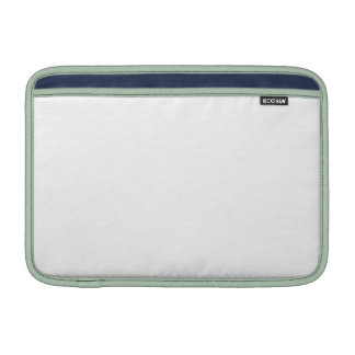 White Color 11 inch Horizontal Air MacBook Sleeves