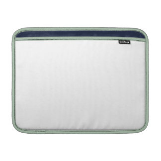 White Color 13 inch Horizontal Air MacBook Sleeve