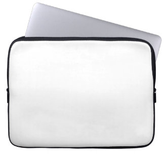 White Color 13 inch Laptop Sleeves