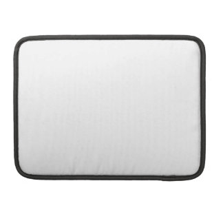 White Color 13 inch Pro Sleeve For MacBooks