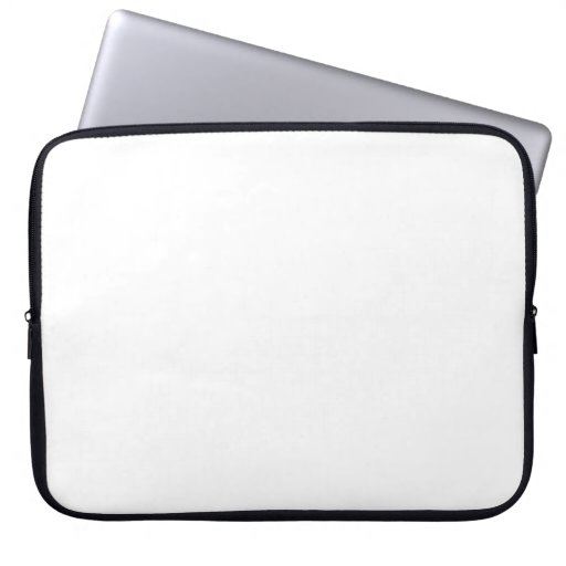 White Color 15 inch Laptop Sleeves