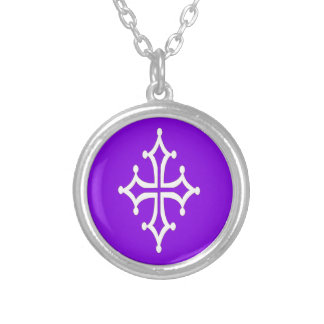 White Color Cross Necklace