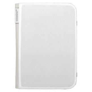 White Color Kindle Folio Cases