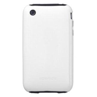 White Color Tough iPhone 3 Case