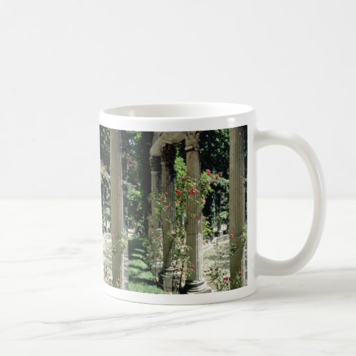 White Columns and roses - Parc Monceau, France flo Classic White Coffee Mug