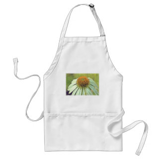 White Coneflower Adult Apron