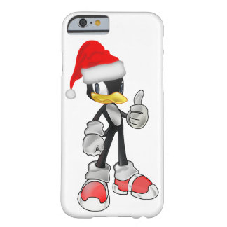 White Cool iPhone 6 Cases With Santa Penguin
