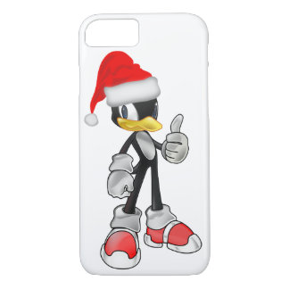 White Cool iPhone 7 Cases With Santa Penguin