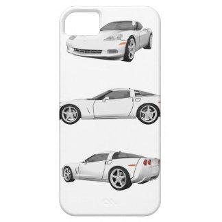 White Corvette: iPhone SE/5/5s Case