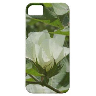 White Cotton Crop Blossom iPhone SE/5/5s Case
