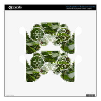 White Cotton Crop Blossom PS3 Controller Skins
