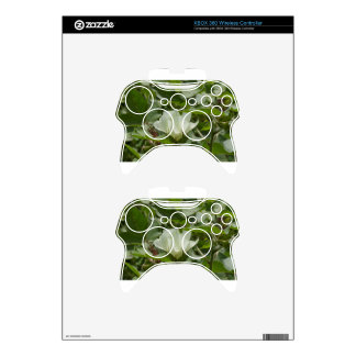 White Cotton Crop Blossom Xbox 360 Controller Decal