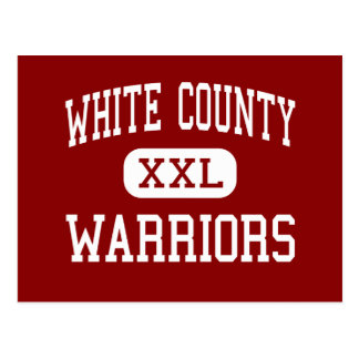 White County - Warriors - High - Sparta Tennessee Postcard