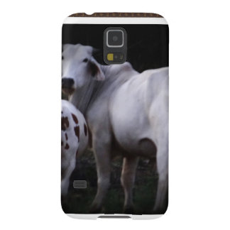White Cow and Calf Galaxy S5 Cover