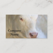 White Cow Business Cards