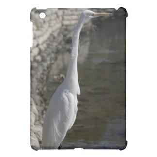 White Crane Bird iPad Speck Case iPad Mini Cover