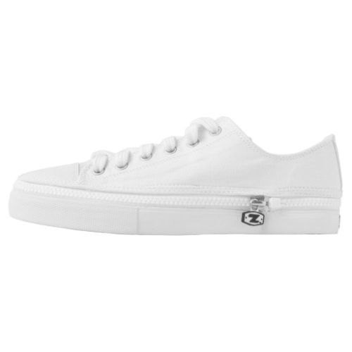 White CREATE YOUR OWN Low_Top Sneakers