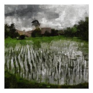 White crop poster