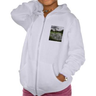 White crop sweatshirt