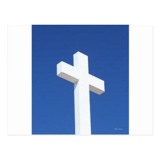 White Cross Postcard