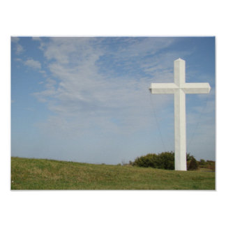 White Cross, poster, print