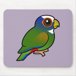 White-crowned Parrot Mouse Pads