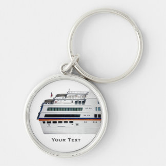 White Cruise Ship Holiday Luggage Tag Baggage Tag Keychains