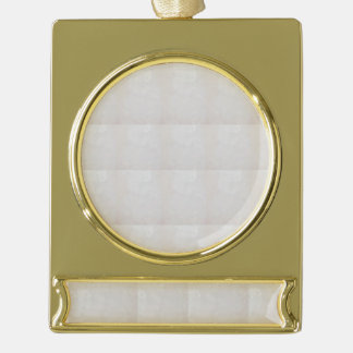 White Crystal gold balance Banner Ornament Silver