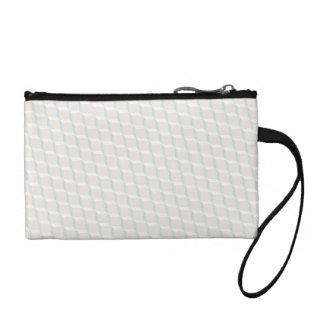 White cubes coin purse