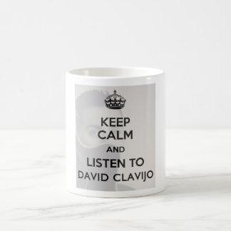 White cup of 325 ml. taza básica blanca