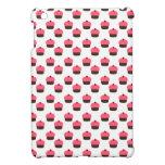 White cupcake pattern iPad mini cover
