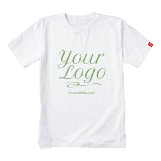 White Custom Promotional T-Shirt Company Logo Bulk