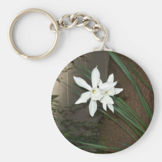 White Daffodils Key Chains