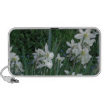 White Daffodils Notebook Speakers