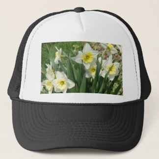 White Daffodils Trucker Hat