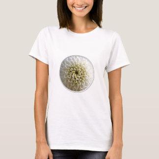 White Dahlia Close-up T-Shirt